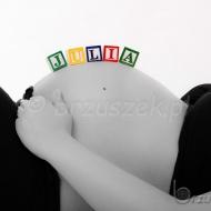Sesja ciążowa akcesoria