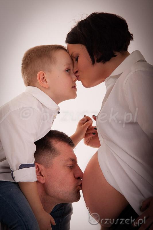Rodzinna sesja brzuszkowa