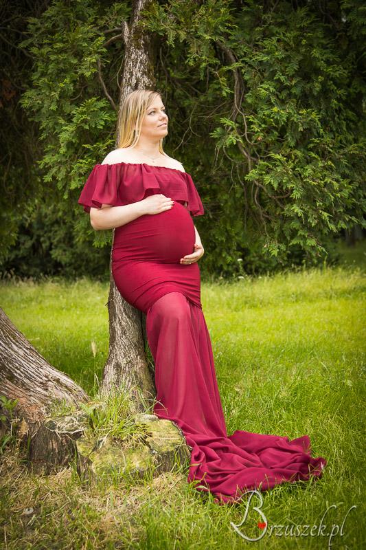 Ciążowa sesja plenerowa