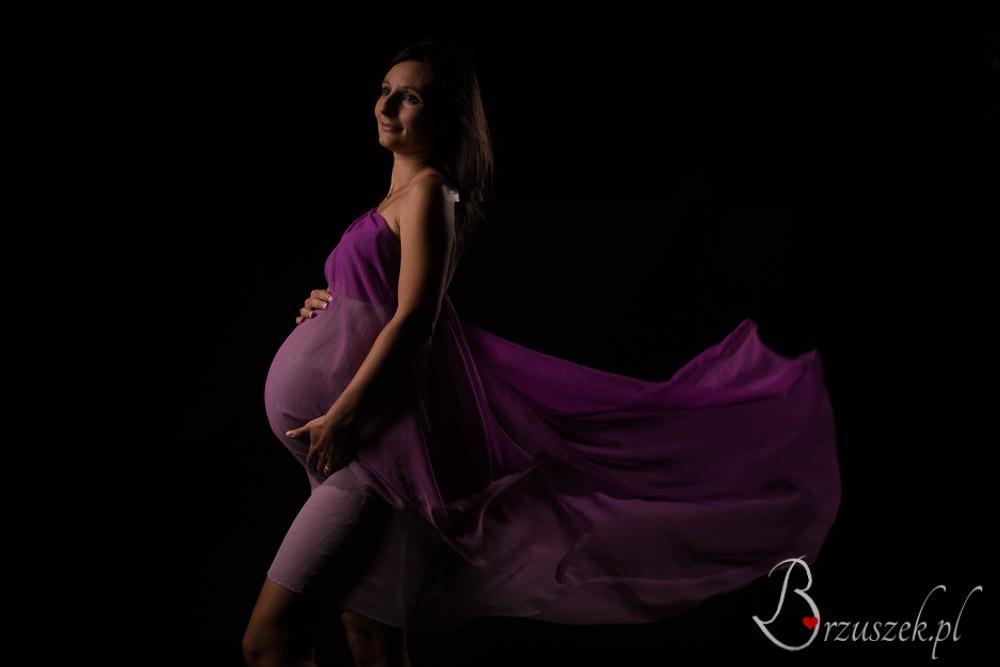 Artystyczna sesja ciążowa