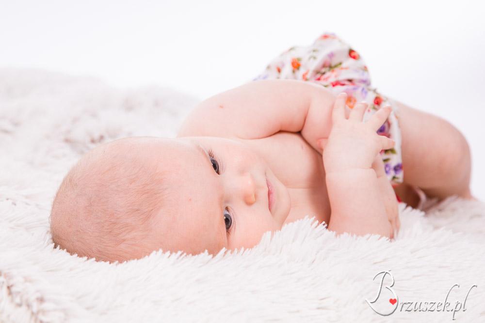 Sesja niemowlęca Warszawa Bemowo