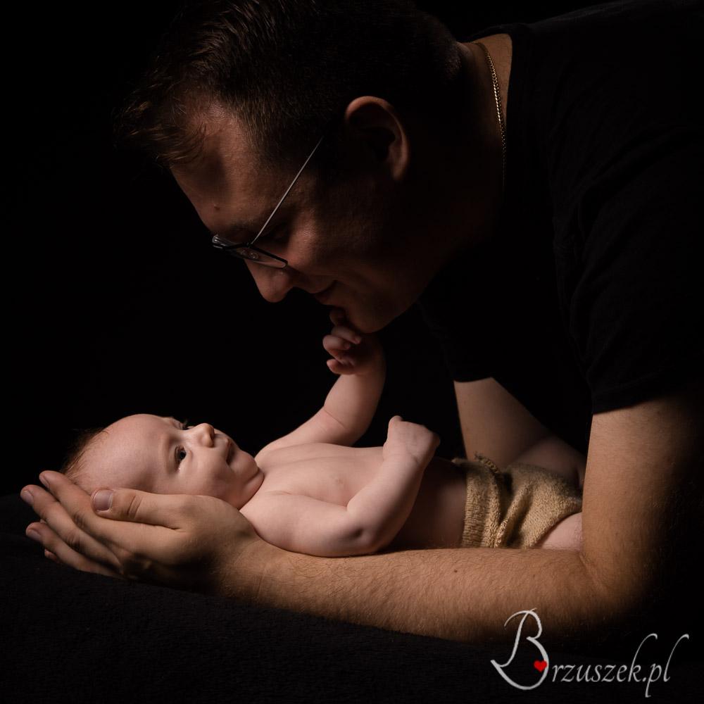 Sesja noworodkowa z Tatą