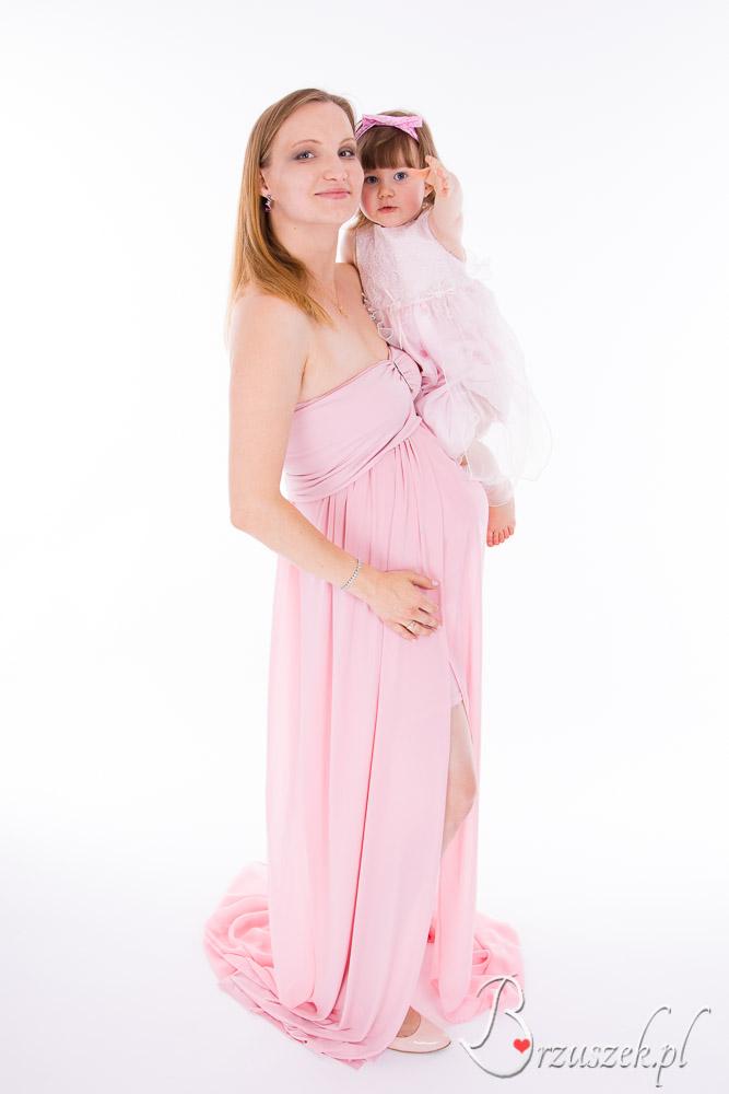 Sesja bruszkowa z córeczką