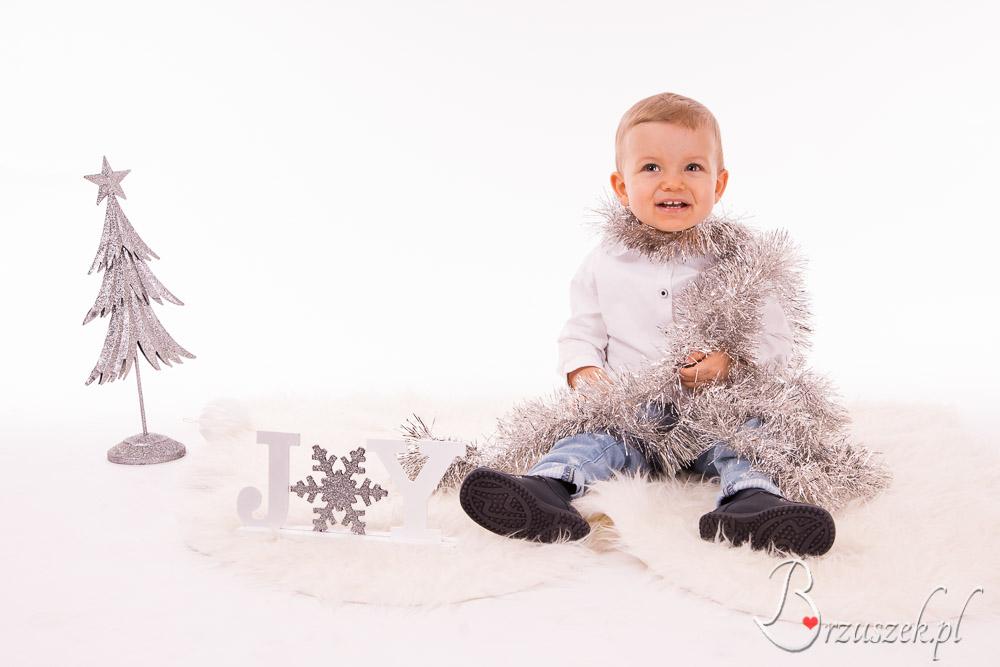Dziecięca sesja świąteczna Warszawa