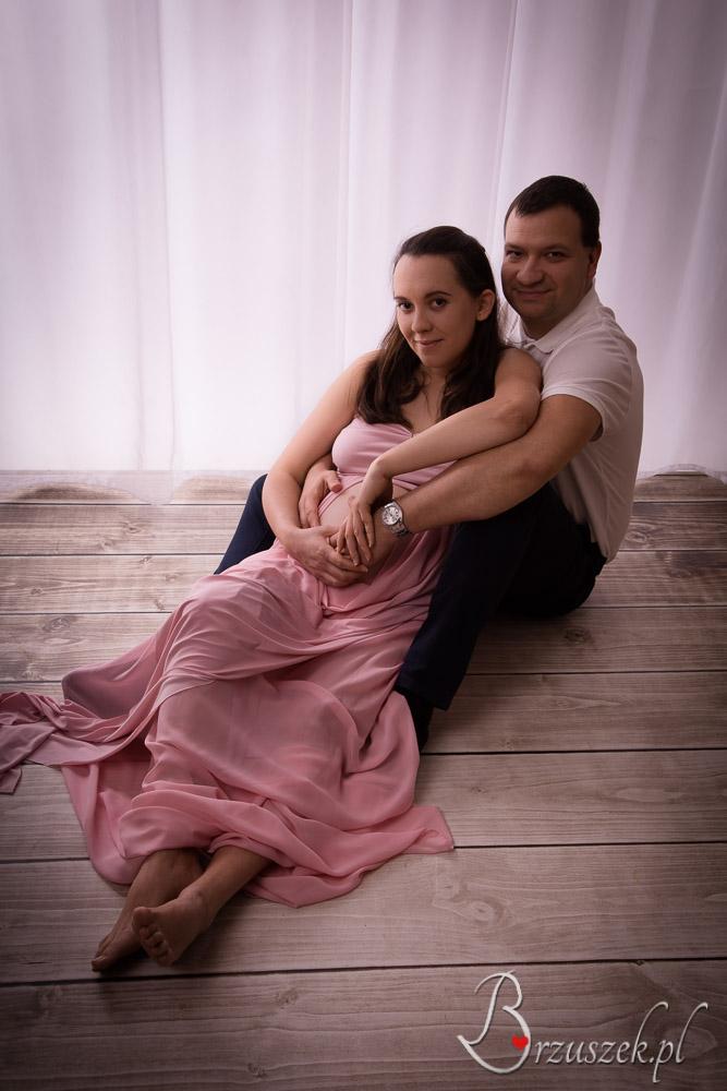 Sesja ciążowa z mężem