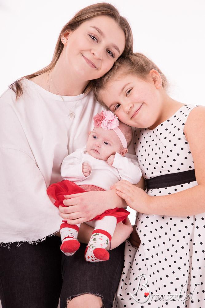 Rodzinna sesja niemowlęca