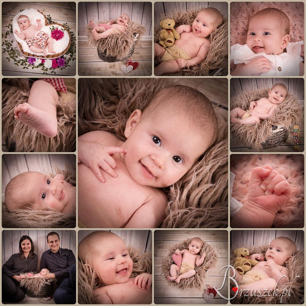 Sesja niemowlęca w Warszawie