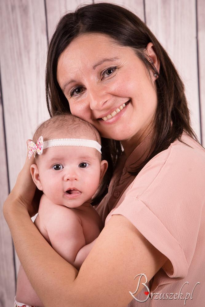 Sesja niemowlęca z Mamą