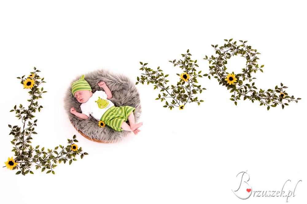 Sesja noworodkowa LOVE