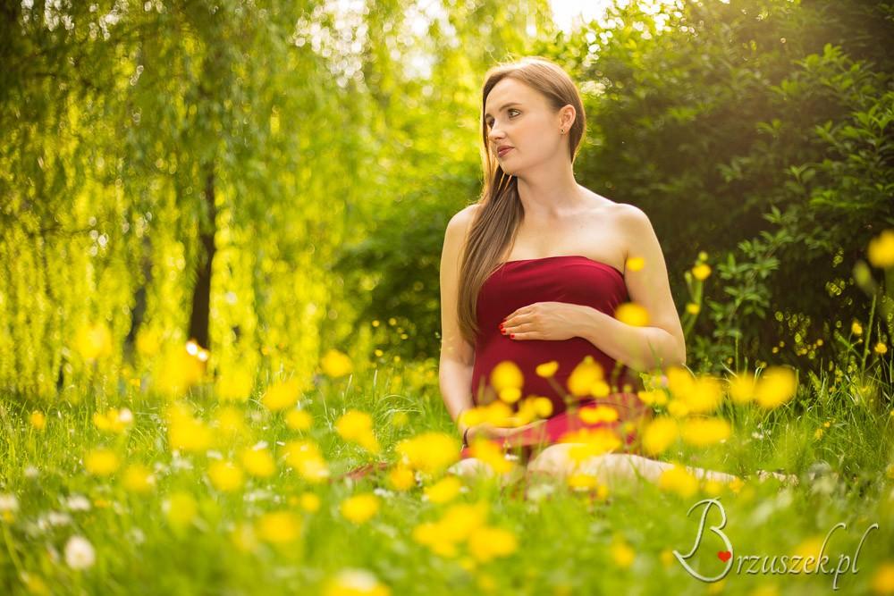 Sesja ciążowa plenerowa